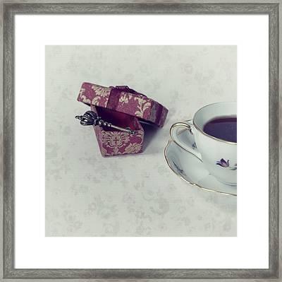 Coffee Time Framed Print by Joana Kruse
