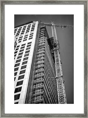 Construction Site Framed Print by Rudy Umans