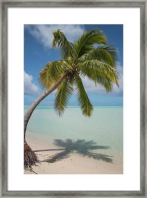Cook Islands, Aitutaki (aka Araura Framed Print by Cindy Miller Hopkins