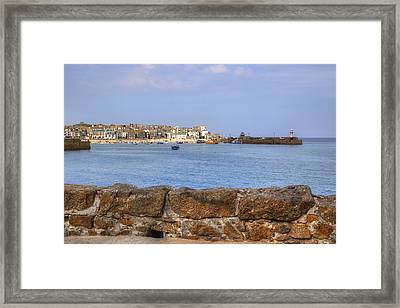 Cornwall - St Ives Framed Print by Joana Kruse