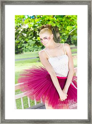 Dancer Framed Print by Jorgo Photography - Wall Art Gallery