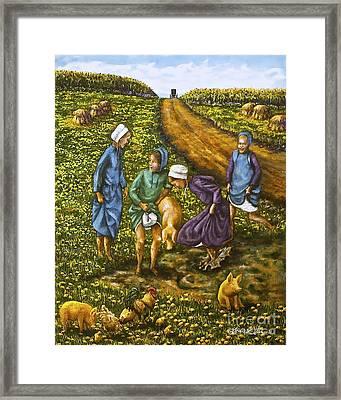 Dandy Day Framed Print by Linda Simon