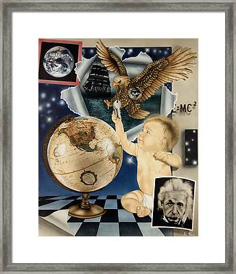 Discovery Of The New World Framed Print by Rich Milo