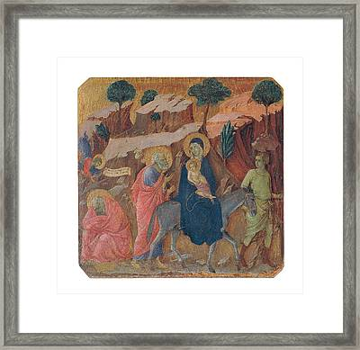 Duccio Di Buoninsegna, Military Parade Framed Print by Everett