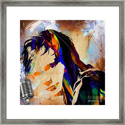 Ed Sheeran Collection Framed Print by Marvin Blaine