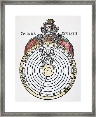 Elizabeth I (1533-1603) Framed Print by Granger