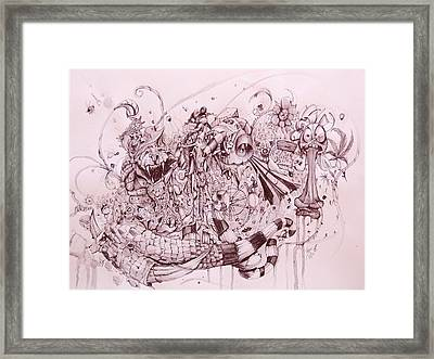 Life Is A Circus  Framed Print by Fabian  Rizo