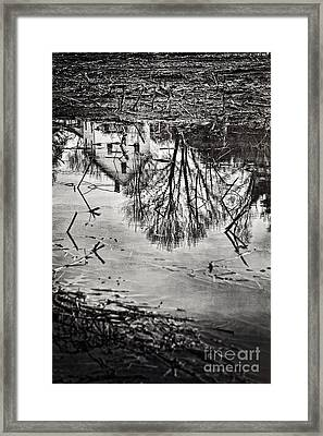 Farmhouse Framed Print by HD Connelly