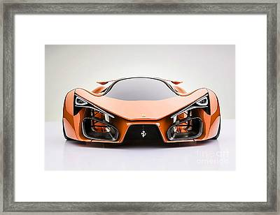 Ferrari F80 Framed Print by Marvin Blaine