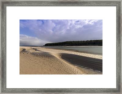Findhorn Bay Framed Print by Karl Normington