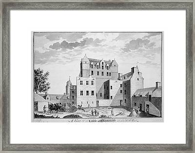 Glamis Castle Framed Print by British Library