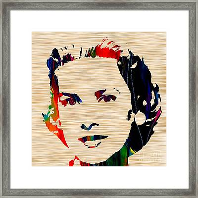 Grace Kelly  Framed Print by Marvin Blaine
