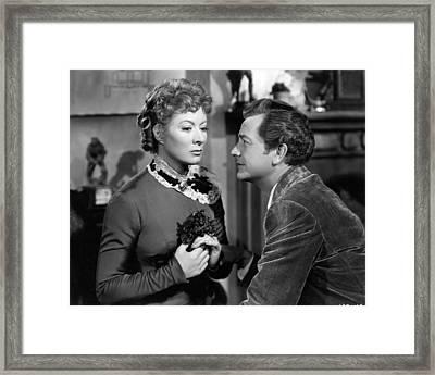 Greer Garson Framed Print by Silver Screen