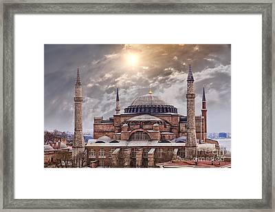 Hagia Sophia Istanbul Framed Print by Sophie McAulay
