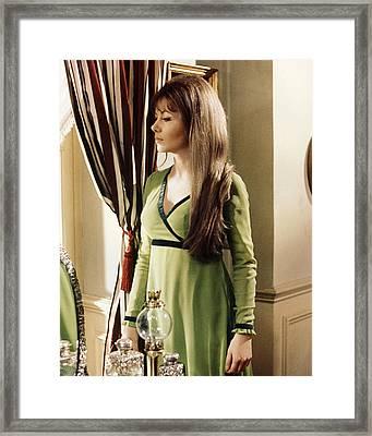 Ingrid Pitt In The Vampire Lovers  Framed Print by Silver Screen