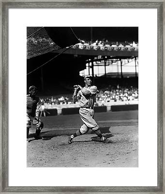 James L. Sunny Jim Bottomley Framed Print by Retro Images Archive
