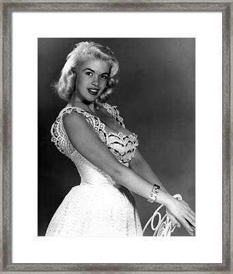 Jayne Mansfield Framed Print by Retro Images Archive