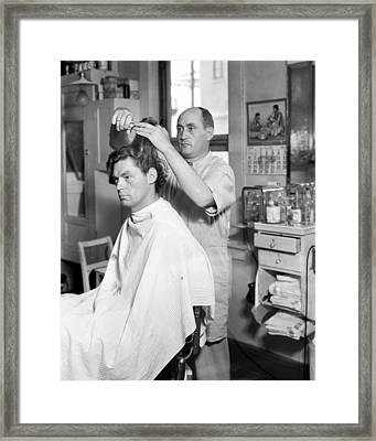 Johnny Weissmuller Framed Print by Silver Screen