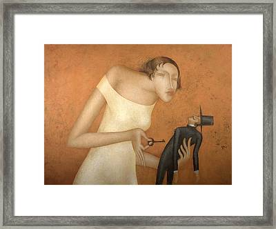 Key Framed Print by Nicolay  Reznichenko