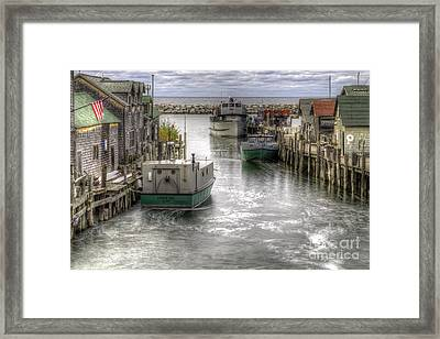Leland River Framed Print by Twenty Two North Photography