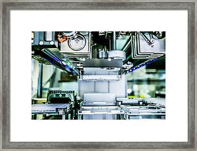 Malaria Drug Research Framed Print by Gustoimages