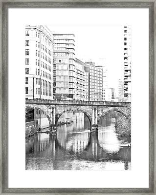Manchester Framed Print by Tom Gowanlock