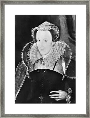 Mary, Queen Of Scots (1542-1587) Framed Print by Granger