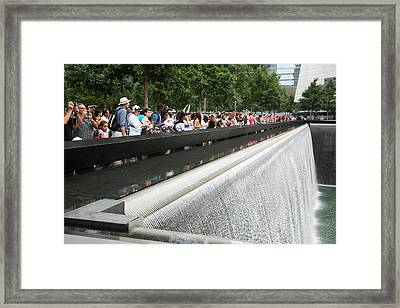 Memorial To 11 September 2001 Framed Print by Jim West