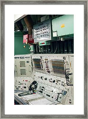 Minuteman Missile Control Room Framed Print by Jim West