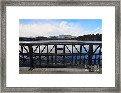 Mount Chocorua Framed Print by Catherine Reusch  Daley