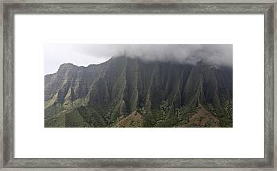 Na Pali Kauai Framed Print by Steven Lapkin