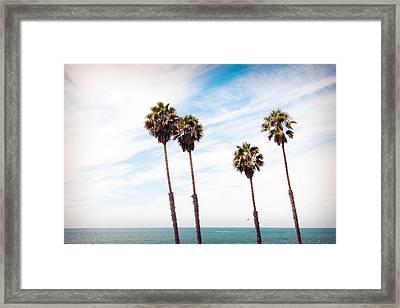 4 Of A Kind Framed Print by Aron Kearney