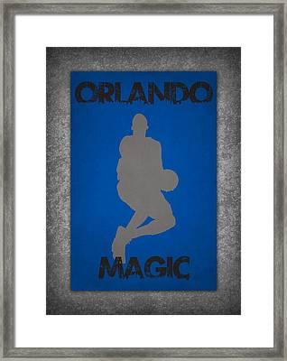 Orlando Magic Framed Print by Joe Hamilton