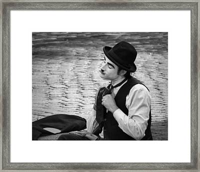 4 - Over And Through - French Mime Framed Print by Nikolyn McDonald