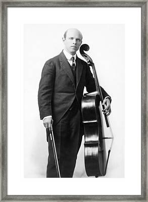 Pablo Casals (1876-1973) Framed Print by Granger