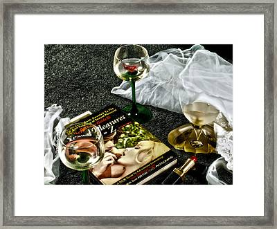 Passion Framed Print by Camille Lopez
