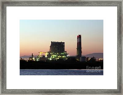 Power Station Framed Print by Henrik Lehnerer