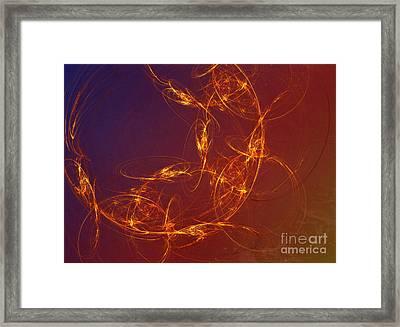 4 Rich Framed Print by Edward Fielding