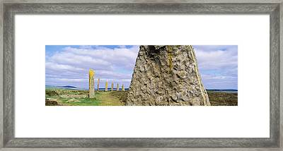Ring Of Brodgar, Orkney Islands Framed Print by Panoramic Images