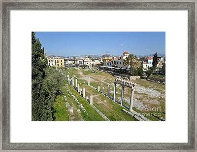 Roman Market Framed Print by George Atsametakis