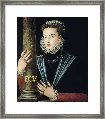 Sanchez Coello, Alonso 1531-1588 Framed Print by Everett