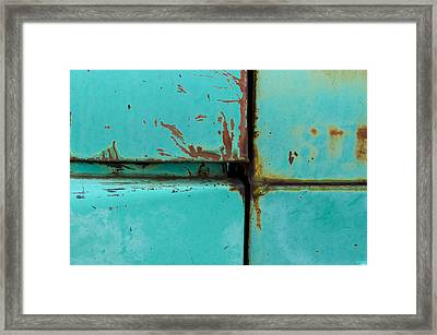 4 Square Framed Print by Fran Riley