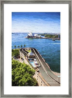 Sydney Harbour Framed Print by Avalon Fine Art Photography
