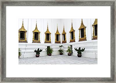 Thai Kings Grand Palace Framed Print by Sumit Mehndiratta