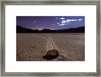 The Racetrack Framed Print by Cat Connor