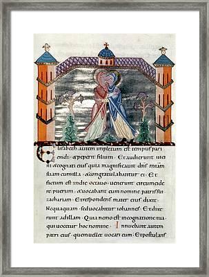The Visitation Framed Print by Granger