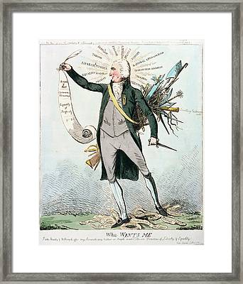 Thomas Paine (1737-1809) Framed Print by Granger