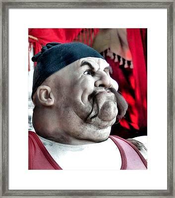 Tough Guy Framed Print by James Stough