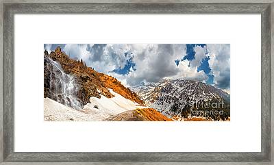 Transfagarasan Highway Framed Print by Gabriela Insuratelu