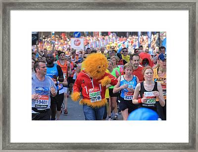 Virgin London Marathon 2013 Framed Print by Ash Sharesomephotos